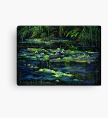 Monet's Garden at Giverny Canvas Print