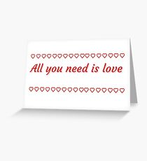 Beatles greeting cards redbubble the beatles design greeting card m4hsunfo Choice Image