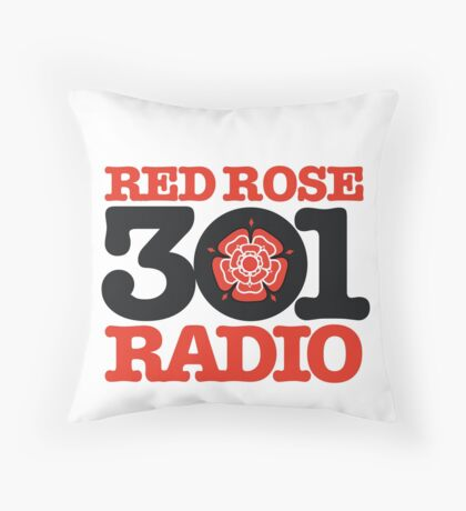 Red Rose Radio - Preston's finest MW station of the 1980s Throw Pillow