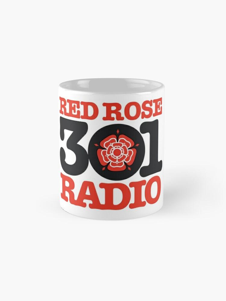 Alternate view of Red Rose Radio - Preston's finest MW station of the 1980s Mug