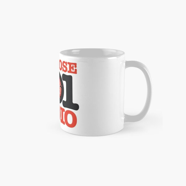 Red Rose Radio - Preston's finest MW station of the 1980s Classic Mug
