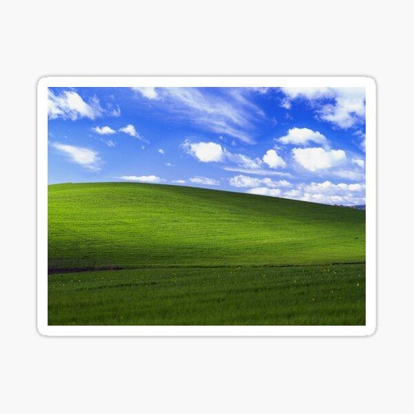 Glückseligkeit - Windows XP Wallpaper Sticker