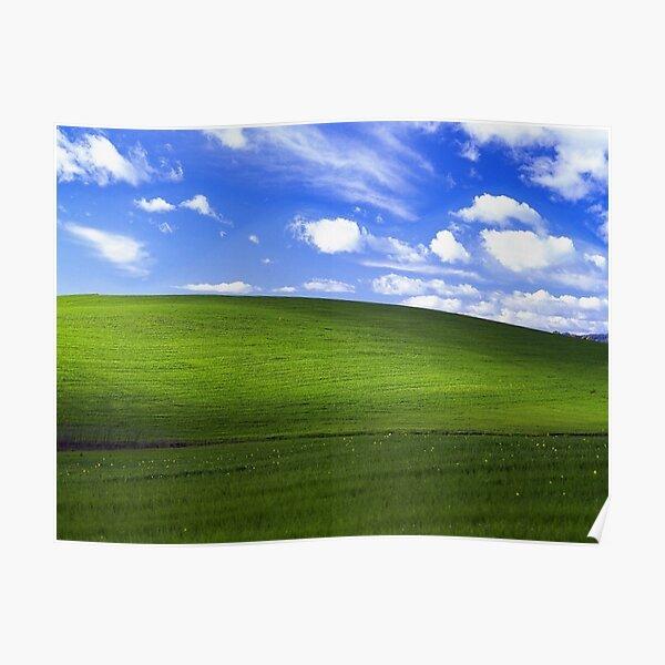 Bliss - Windows XP Wallpaper Poster