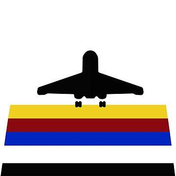 LEGO classic minifigure international jetport by jimivandebeek