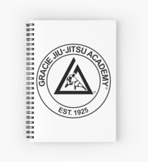 Gracie Jiu-Jitsu Academy Spiral Notebook