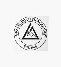 Gracie Jiu-Jitsu Academy Art Board