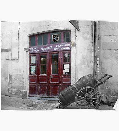 Vins et Spiriteux -  La Rochelle Poster