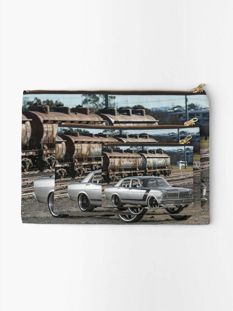 Alternate view of Steve Santos' XY Ford Falcon Zipper Pouch