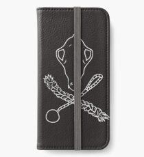 Skull n Crossbones White iPhone Wallet/Case/Skin