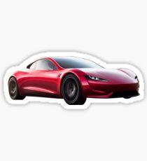 Tesla Roadster Sticker