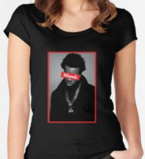 Roy Woods Supreme Graphic Women's Fitted Scoop T-Shirt