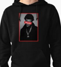 Roy Woods Supreme Graphic Pullover Hoodie