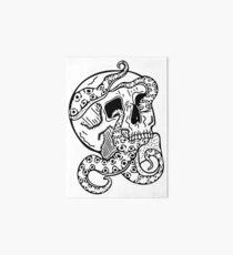 Tentacle Skull Art Board