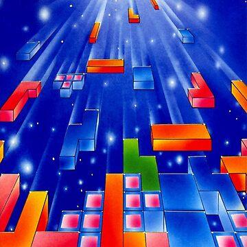 Falling Tetris Blocks by CWspatula