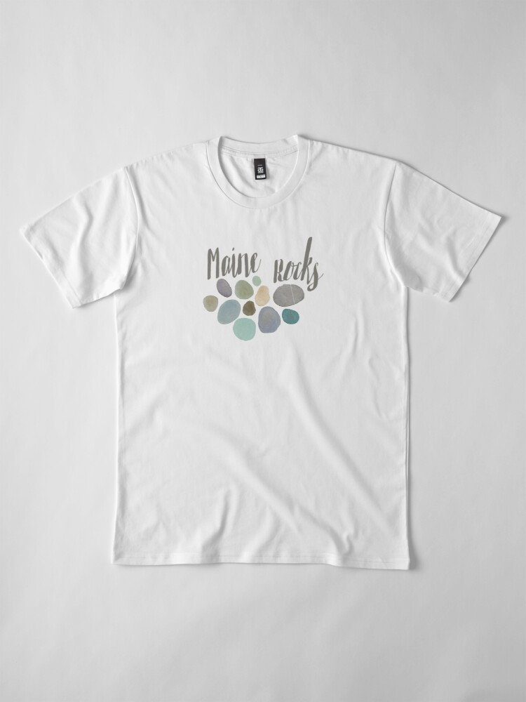 Alternate view of Maine Rocks Premium T-Shirt