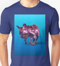 Blue French Bulldog Unisex T-Shirt
