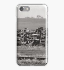 Automobile Graveyard, 1935 iPhone Case/Skin