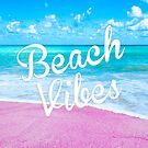 Pink Beach Vibes by julieerindesign