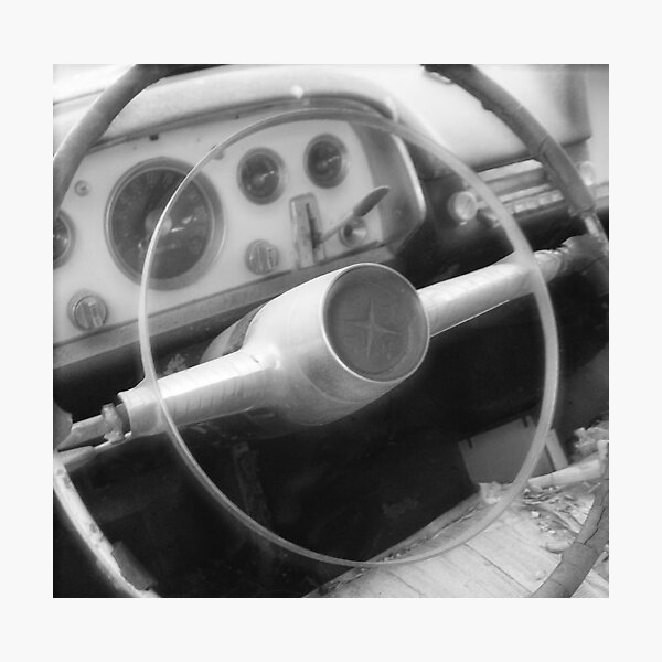 Take a Drive Down Memory Lane Photographic Print