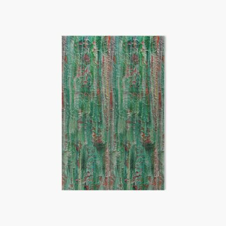Old fashioned Tapestry (Jade) Art Board Print
