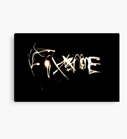Fix Me Part 2 Canvas Print