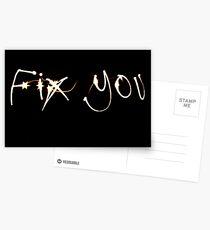 Fix Me Part 4 Postcards