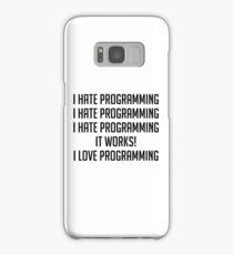 I Love Programming Samsung Galaxy Case/Skin