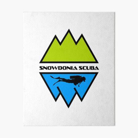 'SUBLIME' SNOWDONIA SCUBA Art Board Print
