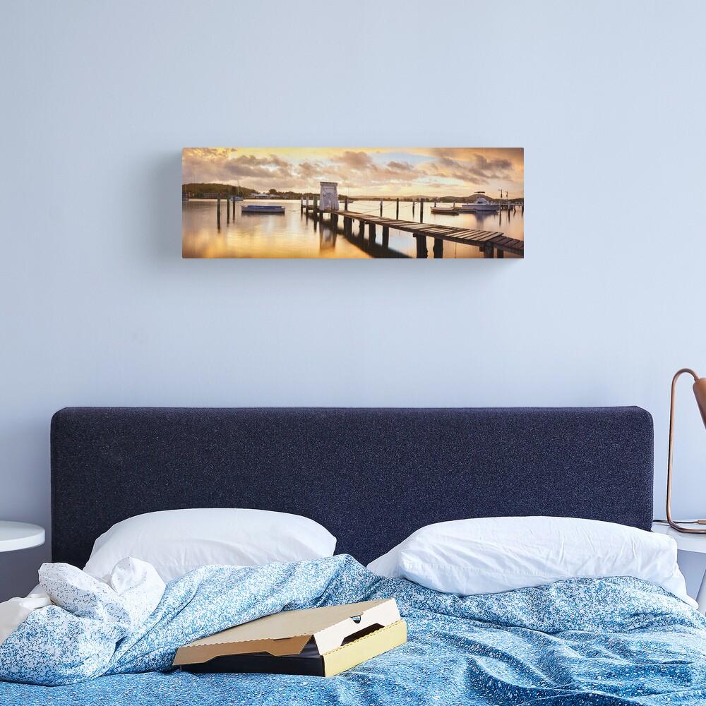 Davistown Jetty, New South Wales, Australia Canvas Print