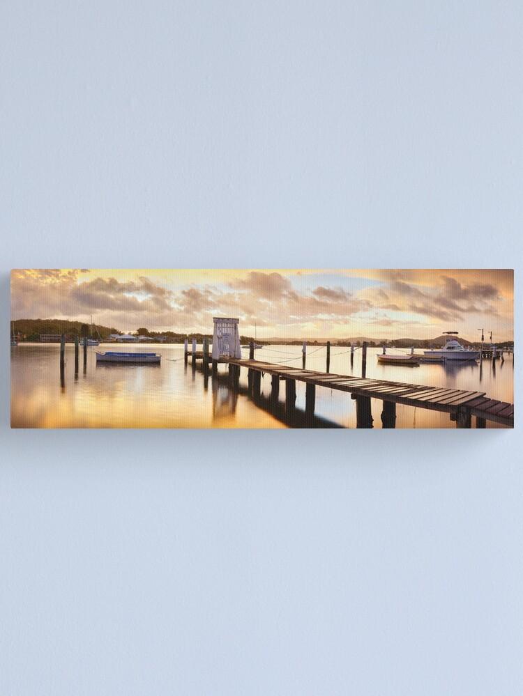 Alternate view of Davistown Jetty, New South Wales, Australia Canvas Print