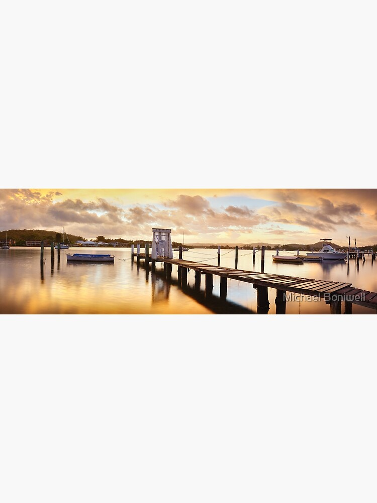 Davistown Jetty, New South Wales, Australia by Chockstone