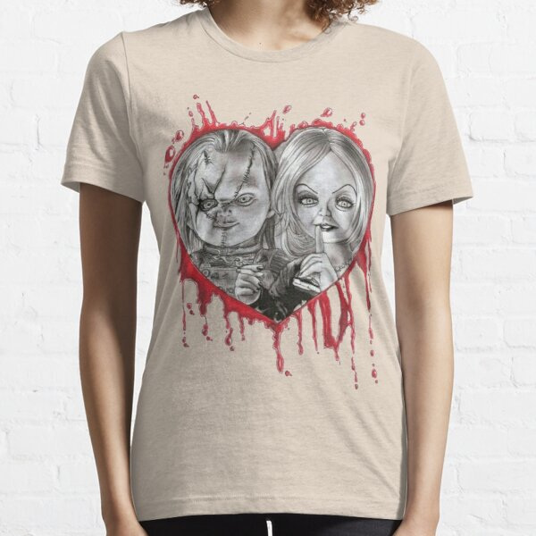 chucky and tiffany valentine's Essential T-Shirt