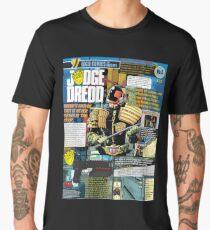 Judge Dredd Infographic Men's Premium T-Shirt