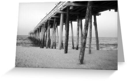 Rodanthe Pier by SamClarkPhoto