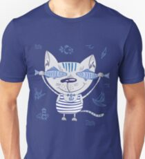 Sea cat illustration  Unisex T-Shirt