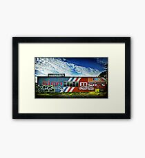 Analogue Imaging Framed Print