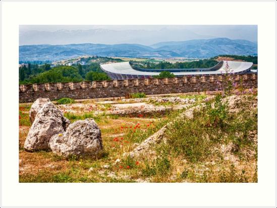 Stadium Landscape von Yevgeni Kacnelson