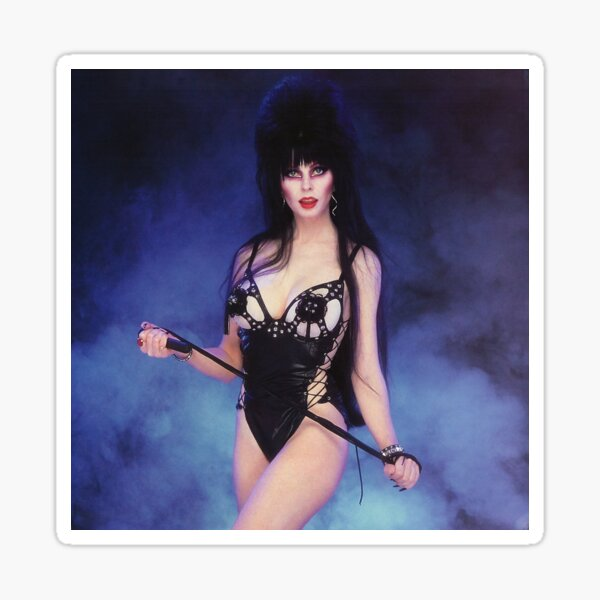 Burlesque Elvira Sticker