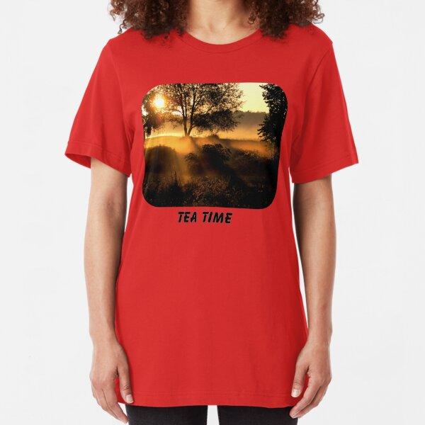 Tea Time Slim Fit T-Shirt