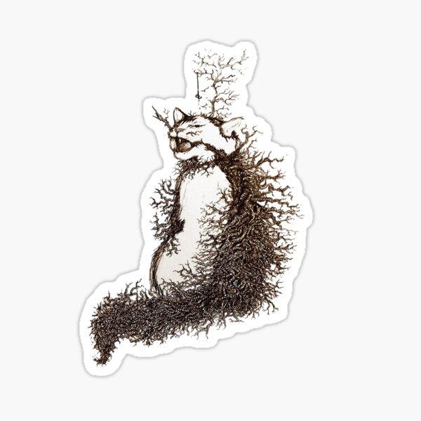 Tree Cat Sticker