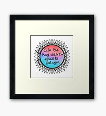 Better Than Drugs Framed Print