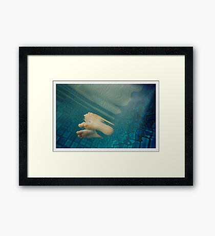 Break on through to the other side Framed Print
