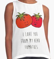 Love tomatoes  Contrast Tank