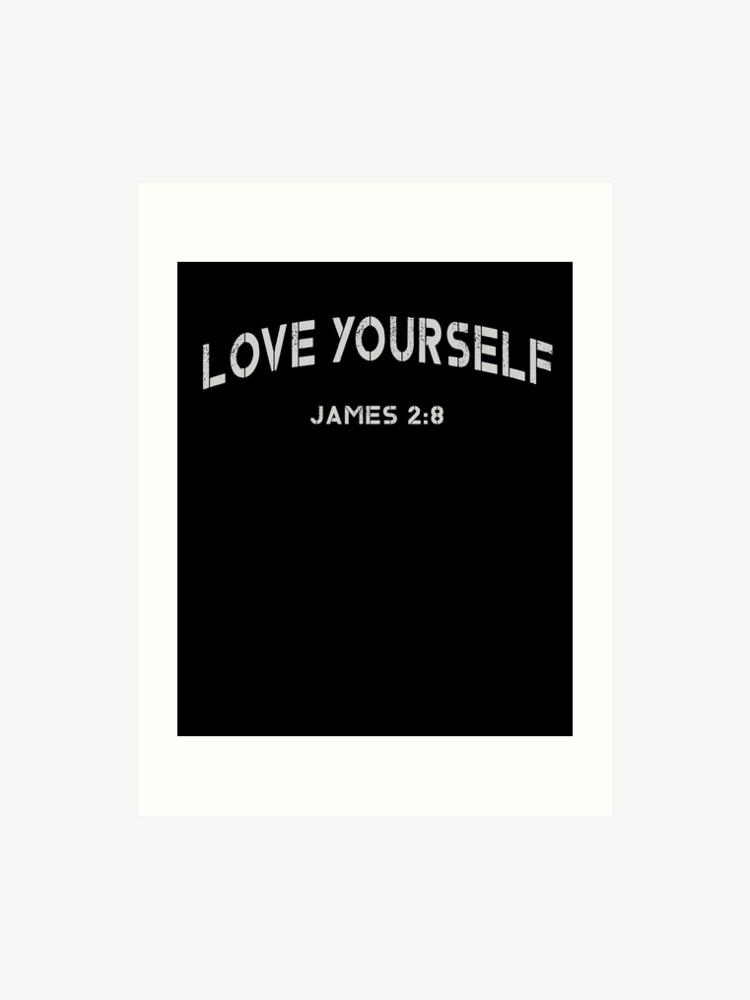 Love yourself christian