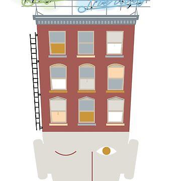 New York Apartment by CarvedGreenman