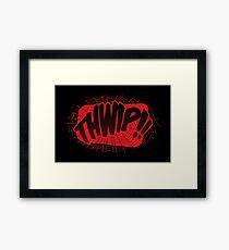 THWIP!! - Miles Framed Print