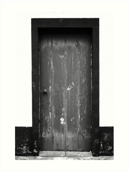 Old door by Gaspar Avila