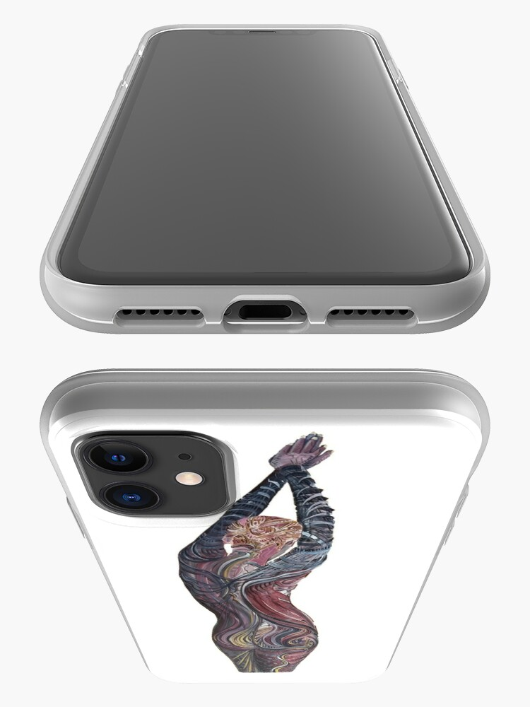 Alternate view of Tatoo Lady iPhone Case & Cover