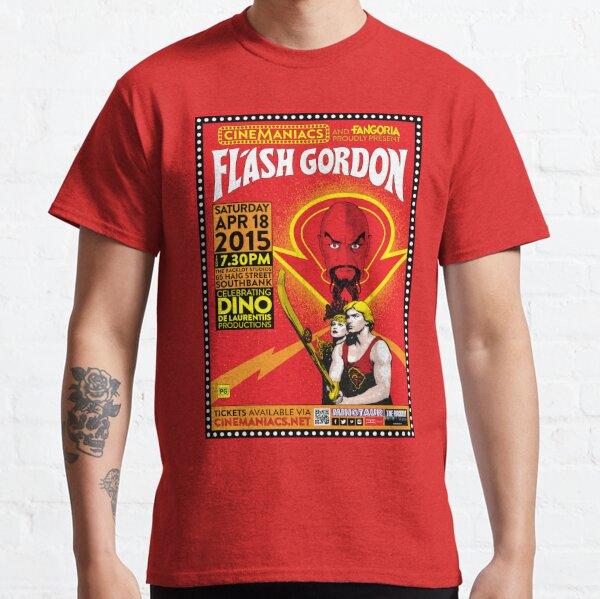 Cinemaniacs - Flash Gordon Classic T-Shirt