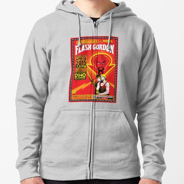 Cinemaniacs - Flash Gordon Zipped Hoodie